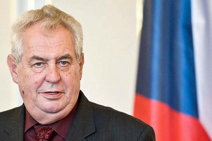 Milos Zeman Czech Senate online