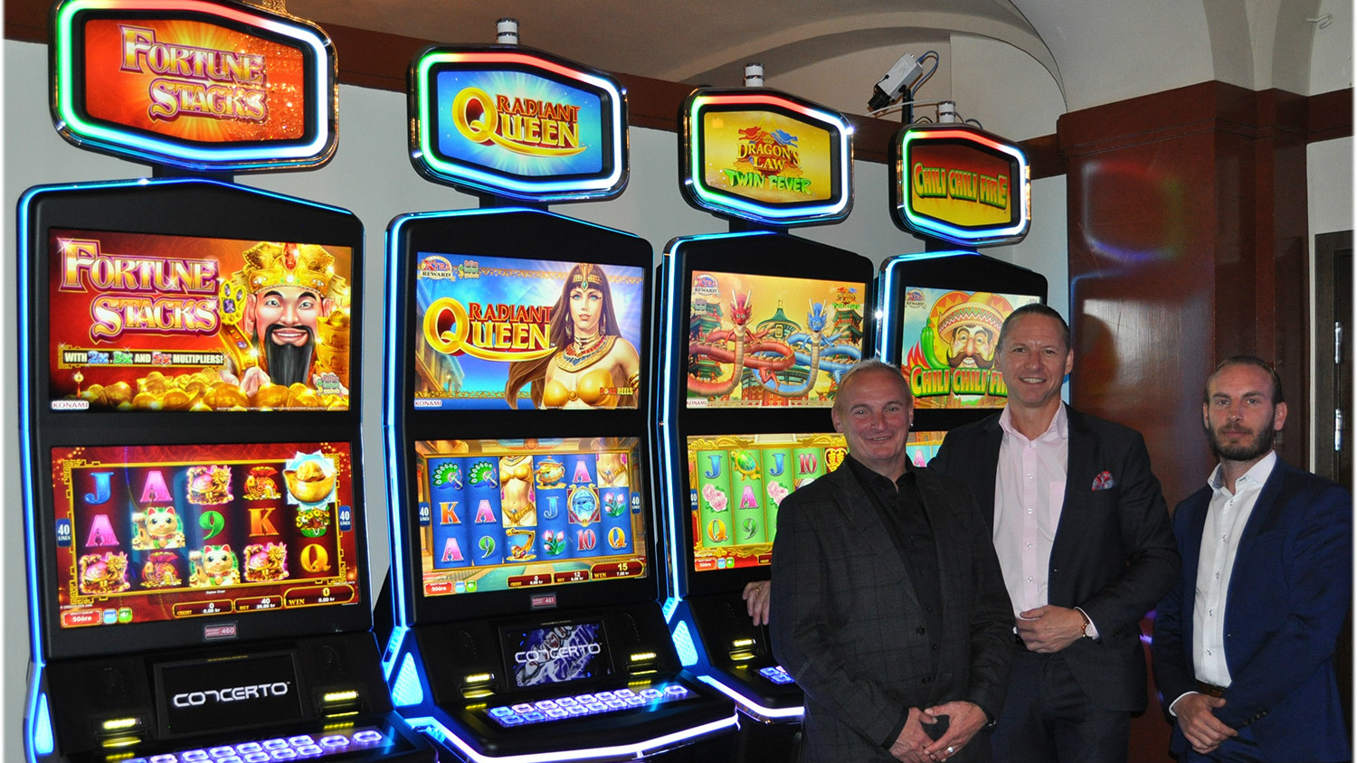 Konami debuts latest video slots in Sweden and Latvia - Casino Review