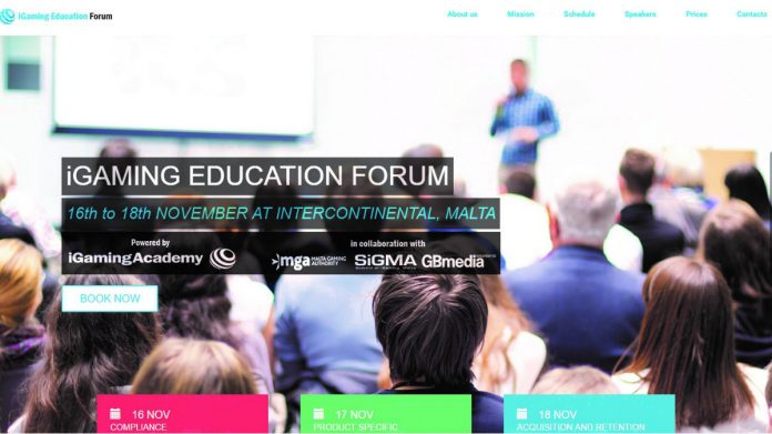 Casino Review, Jaime Debono, iGaming Education Forum, iGaming