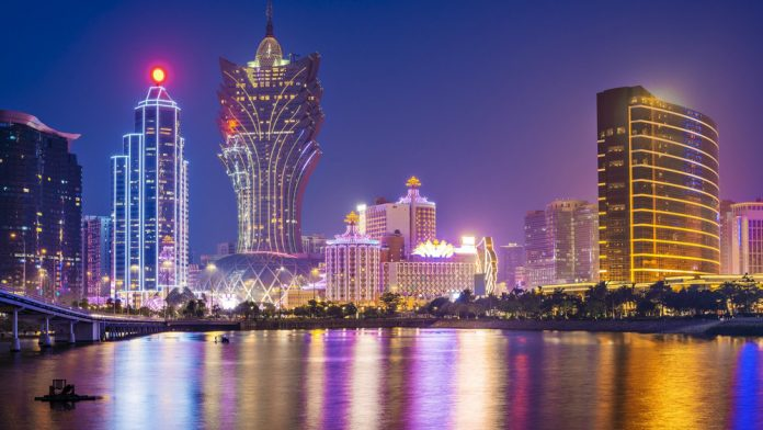 Casino Review Macau Revenues G2E May