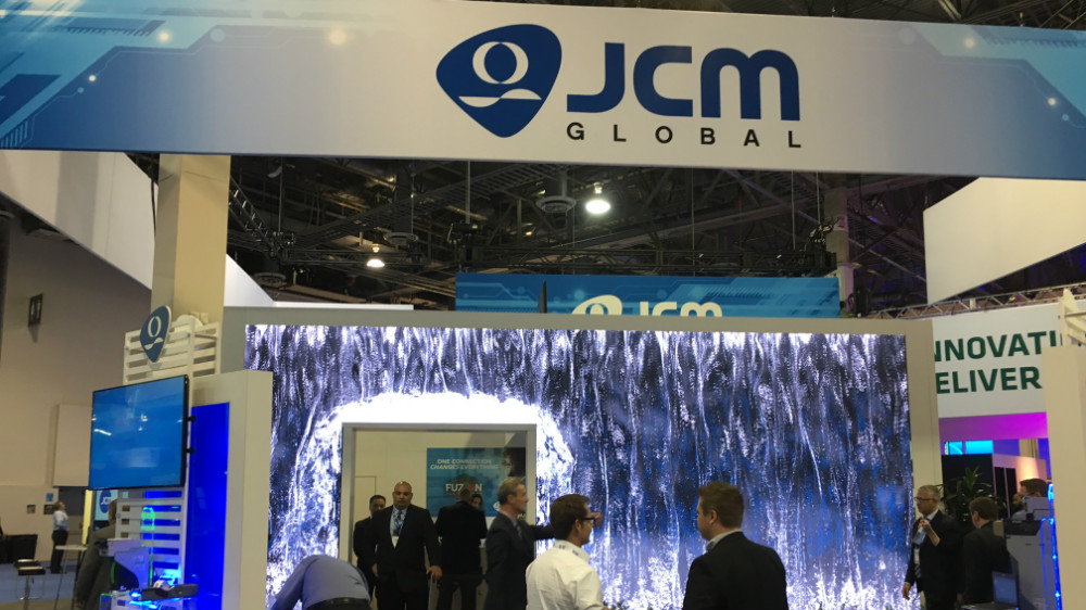 Jade Entertainment named as JCM Global's support and service provider