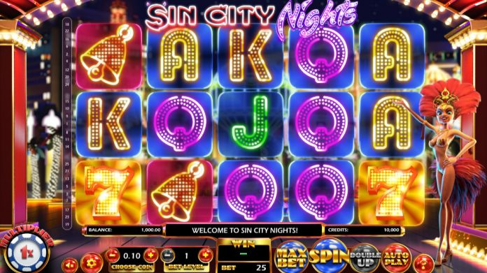 Coinslot Betsoft Gaming Sin City