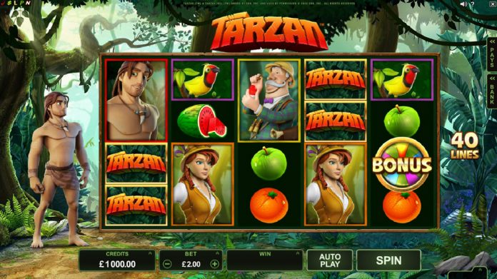 Casino review tarzan Microgaming