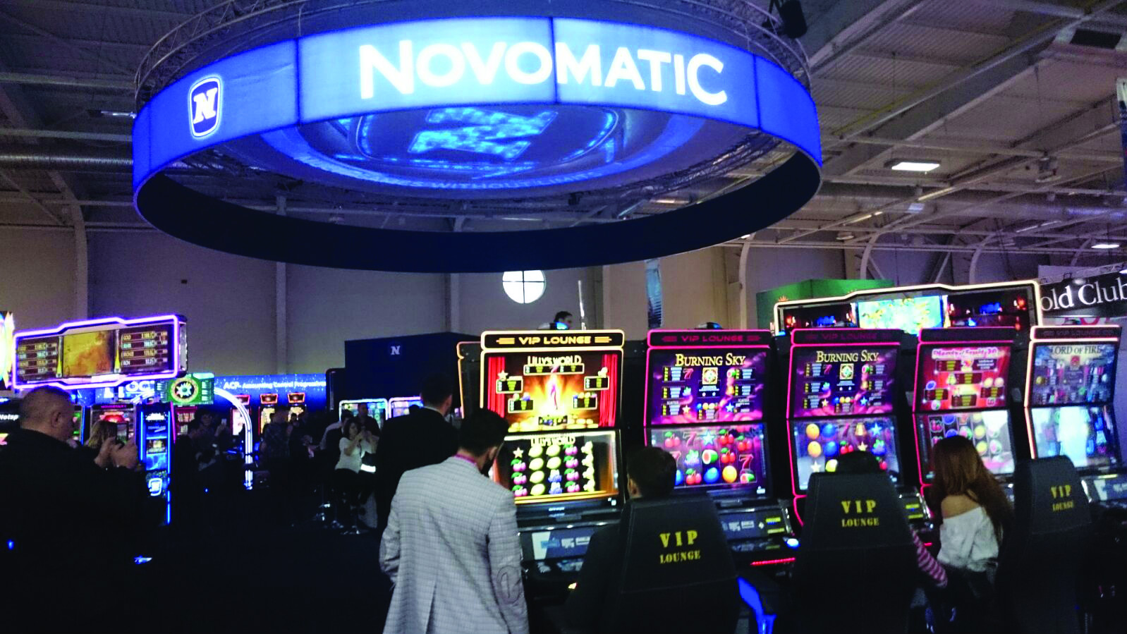 NOVOMATIC Sales Division takes over Ainsworth