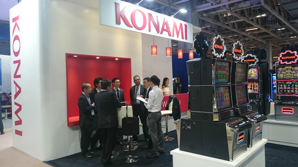 Konami set to make a big appearance at G2E