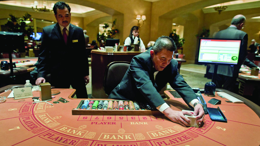 Baccarat blues cause Vegas Strip win to fall 3.5 percent in November