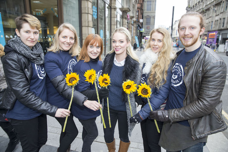 Grosvenor Casino's share the smiles on Random Acts of Kindness Day