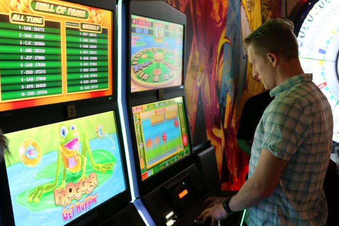Casino Review Frogger Konami
