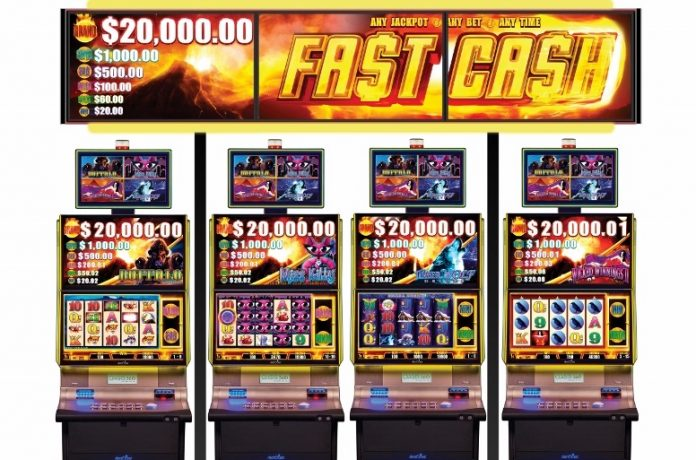Casino Review - Aristocrat Fast Cash jackpot