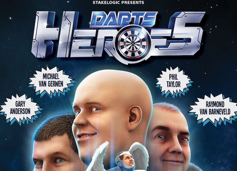 It's game on for StakeLogic's new Darts Heroes title