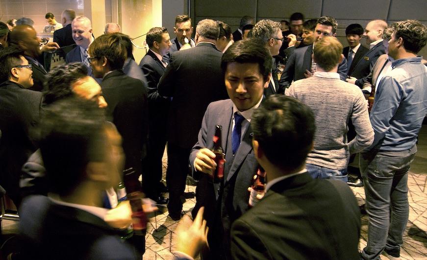 MGEMA celebrates international relations at London reception