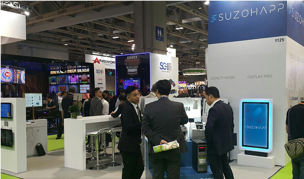 SUZOHAPP cash management solutions a hit at G2E ASIA