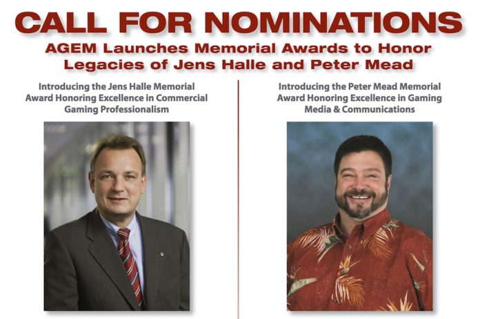 ICR - Halle Mead AGEM nominations