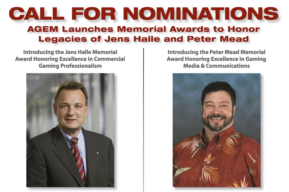 AGEM invites nominations for Halle and Mead awards