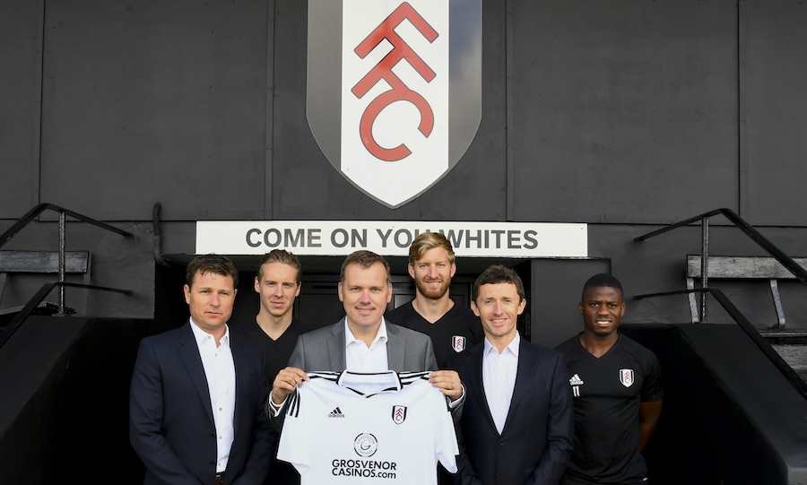 Grosvenor Casinos named main partner for Fulham FC