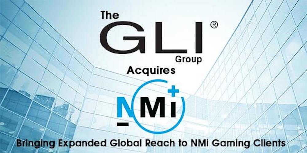 GLI Group acquires NMi Gaming, bringing expanded global reach to NMi gaming clients