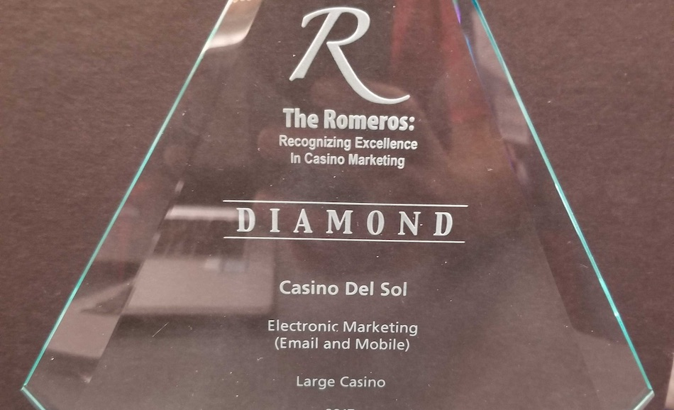 Casino del Sol scores multiple wins at Romero Awards
