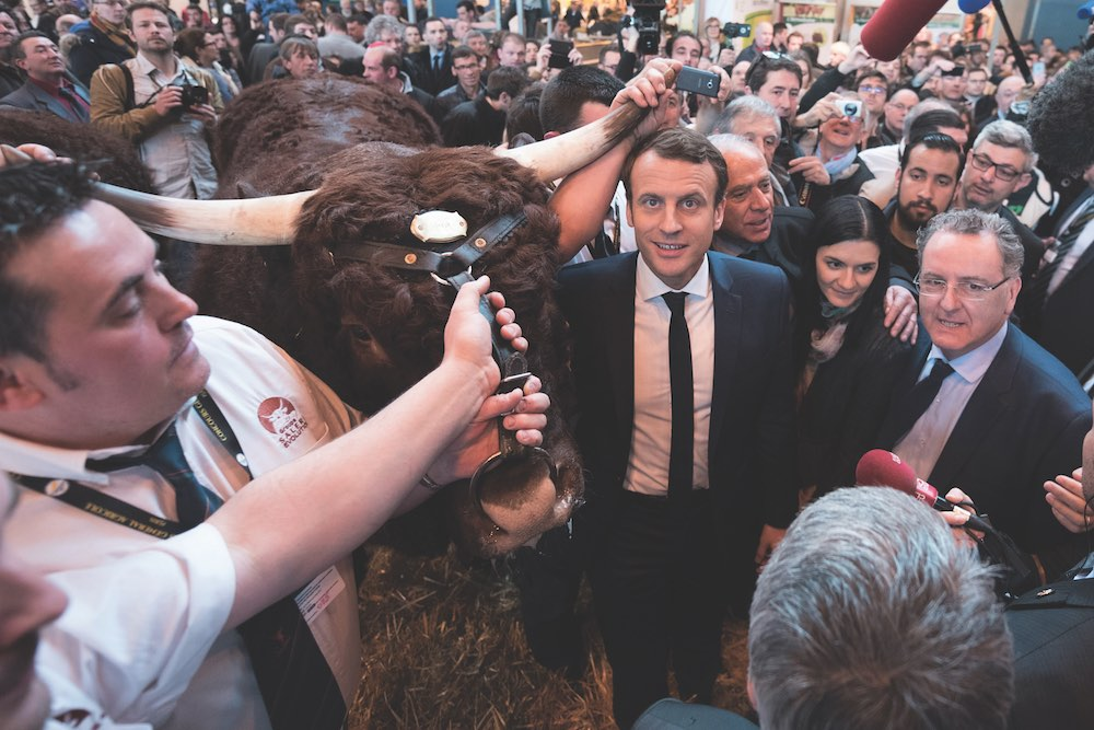 Philippe Bon discusses whether Macron lead French casinos by the horn?