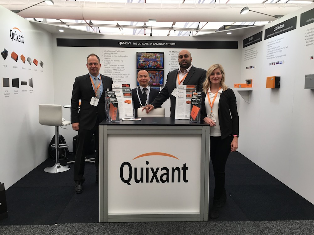 Quixant prepares full portfolio for Australasian Gaming Expo 2017