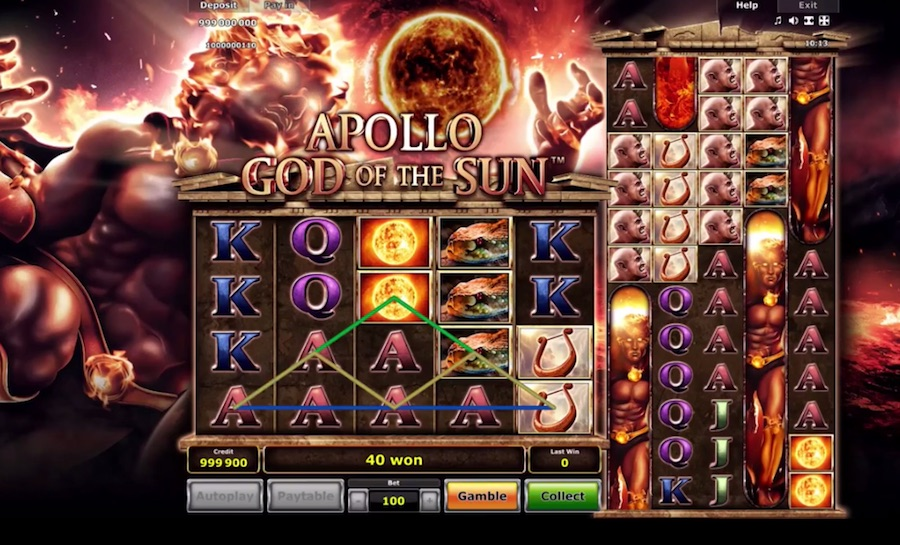 Greentube gets divine with Apollo God of the Sun slot