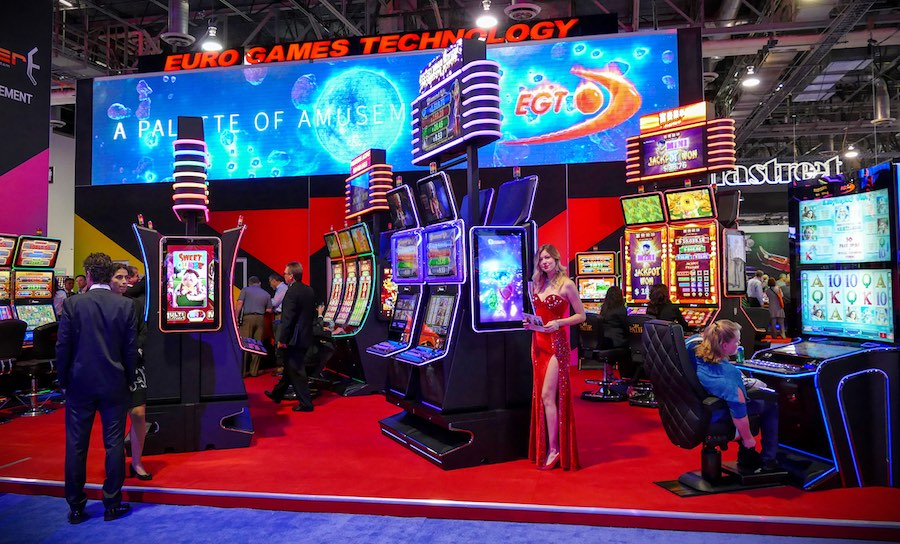 EGT to exhibit new cabinets and 200 games at G2E 2017