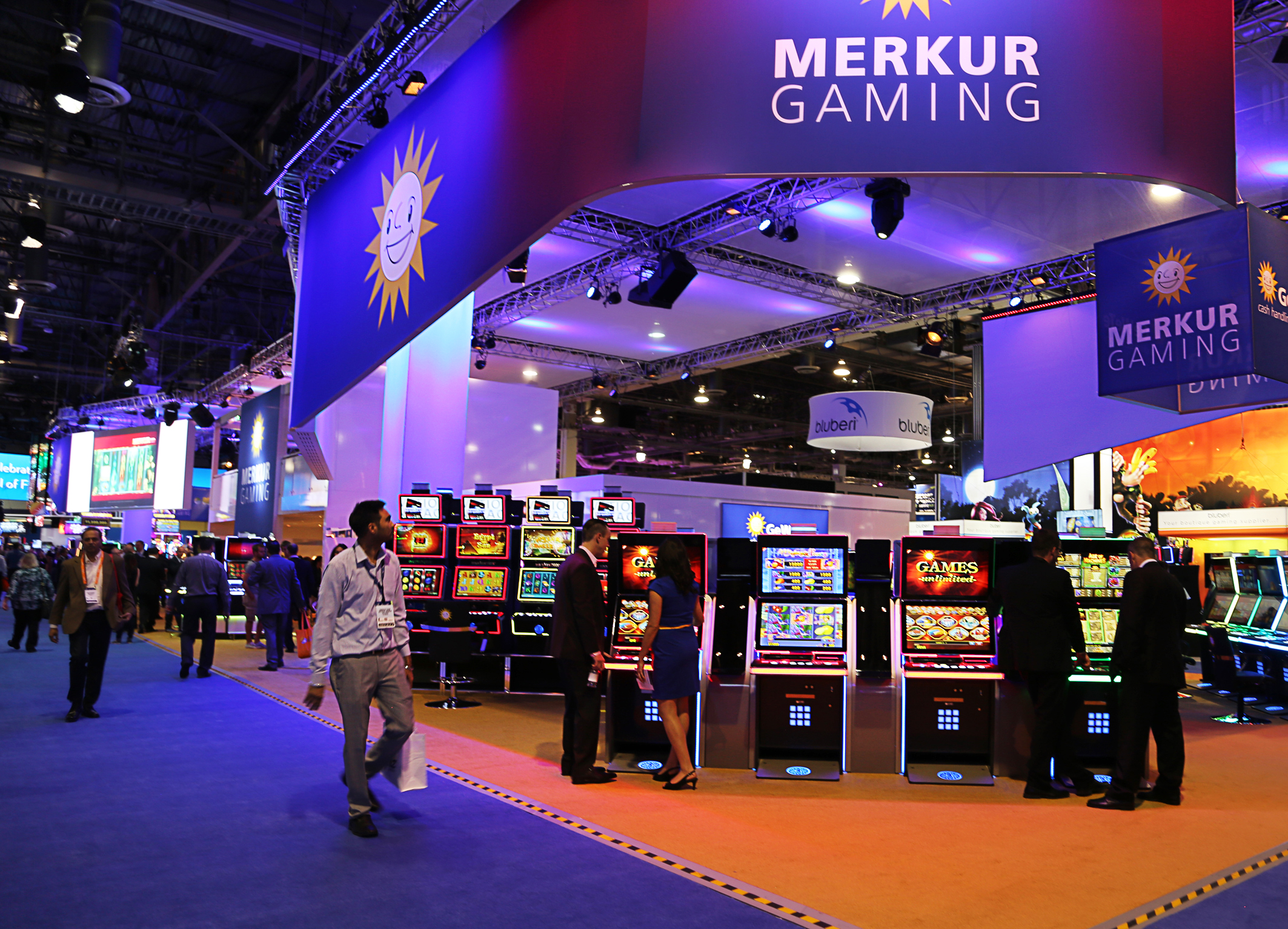 Merkur Gaming to present 100 games at G2E