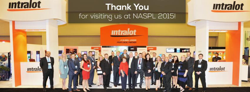 INTRALOT named as top sponsor for NASPL