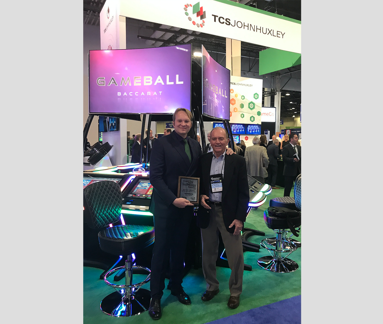 TCSJOHNHUXLEY wins Gaming & Technology Silver Award at G2E