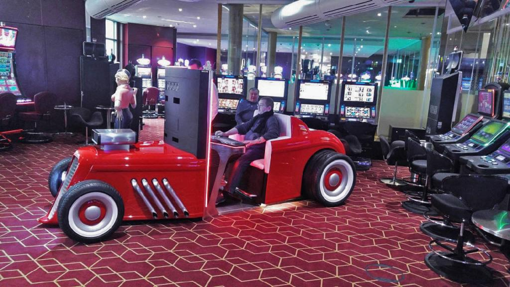 The Casino Technology's HOT ROD™ steps in Europe with first installation