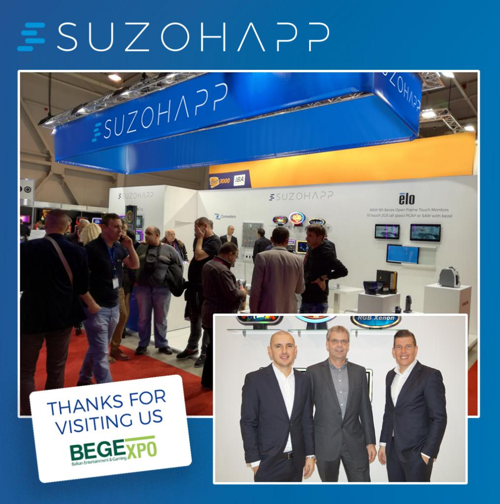 SUZOHAPP attends BEGE as Silver Sponsor