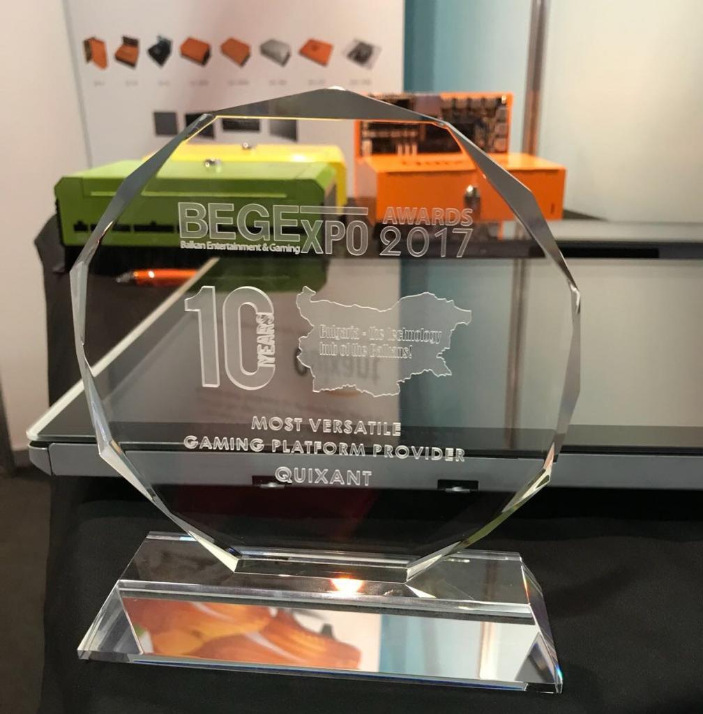 BEGE provides positive platform for Quixant