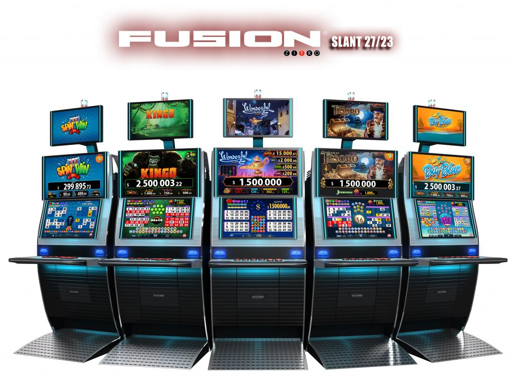 PlayCity bets on new fusion cabinet from Zitro