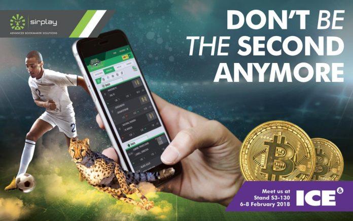 Sirplay Live Betting BitCoin ICE