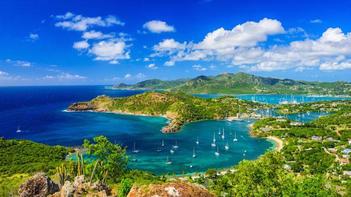 Antigua sea view