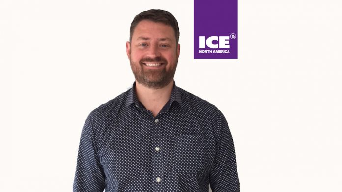 Rory Credland ICE North America sports industry gaming