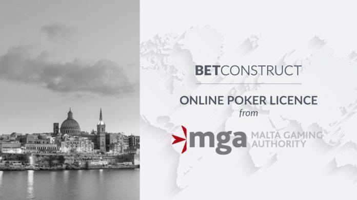 BetConstruct, Poker Software, MGA, mga licence