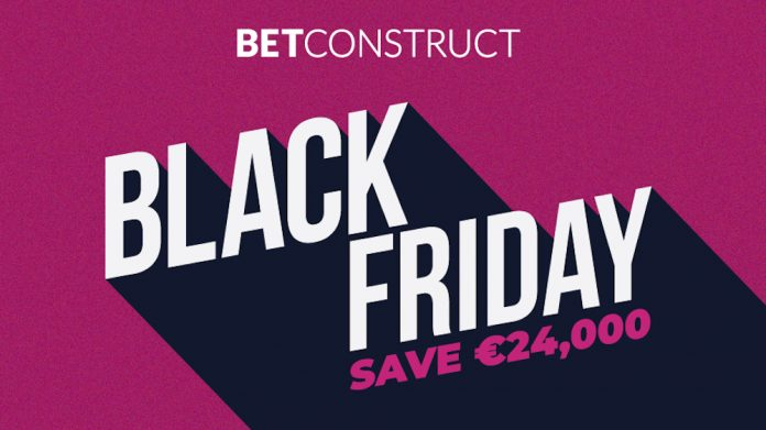 Betconstruct, deal, black friday