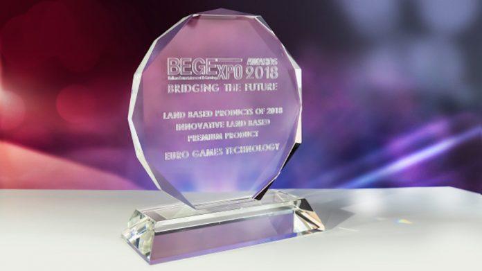 EGT, BEGE awards