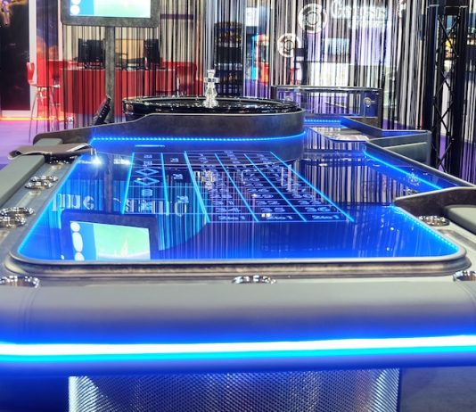 Tableswin iGaming ICE London table