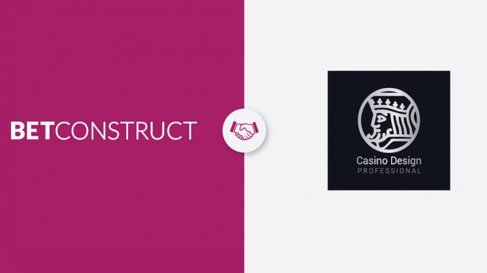 BetConstruct, CasinoDesignPro, partnership, online games