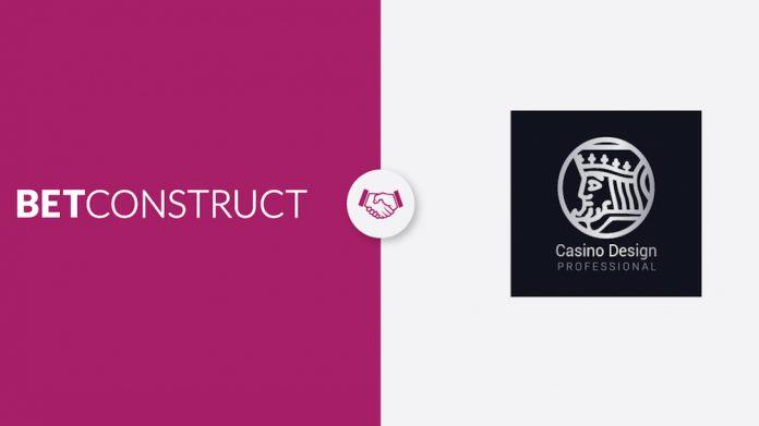 BetConstruct, CasinoDesignPro, partnership, online games