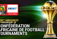 1xBet, sponsorship, Confédération Africaine de Football, tournament