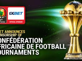 1xBet, sponsorship, Confédération Africaine de Football, tournament