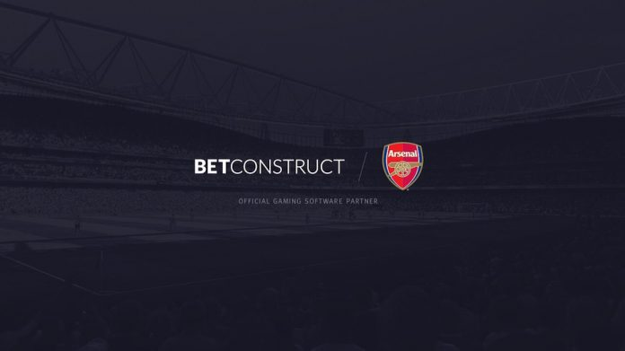 BetConstruct, Arsenal, Partnership, business