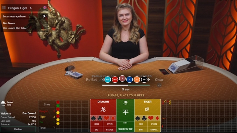 Betconstruct Adds Dragon Tiger And Baccarat Super 6 To It S Live Casino Games Casino Review