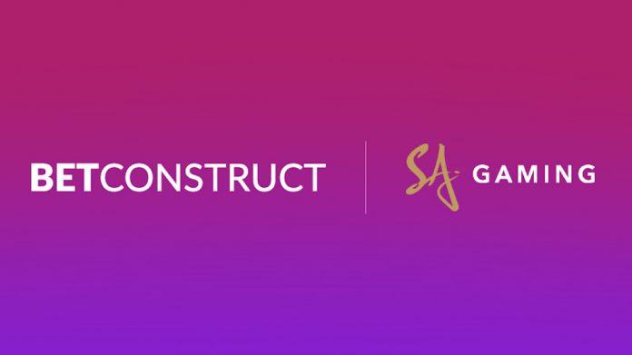 BetConstruct partnership SA Gaming