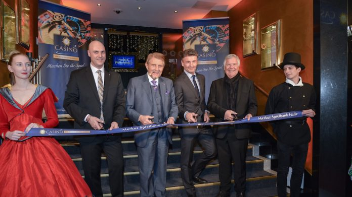 Merkur Spielbank, Gauselmann Group, officially, opened