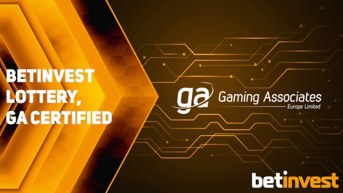 Betinvest, Lottery, certified, Gaming Associates, Europe Ltd