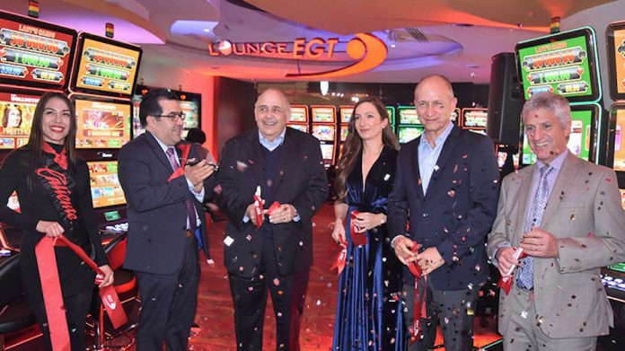 Caliente Group, gambling lounge, exclusively, EGT machines