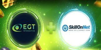 EGT Interactive, content, live, SkillOnNet.